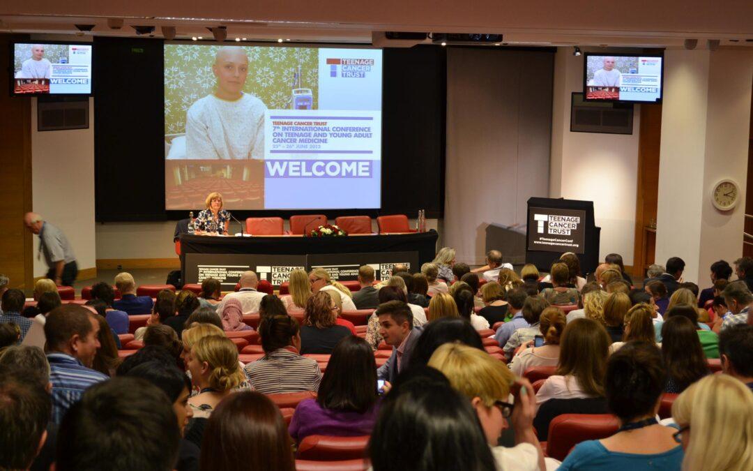 Conferencia de la Teenage Cancer Trust en Londres