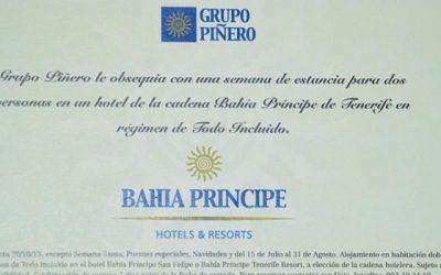 Entregado el premio de Bahía Principe Hoteles y Resorts