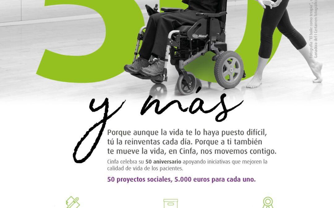 'Contigo, 50 y más': Ayúdanos, ¡Vota nuestro proyecto!