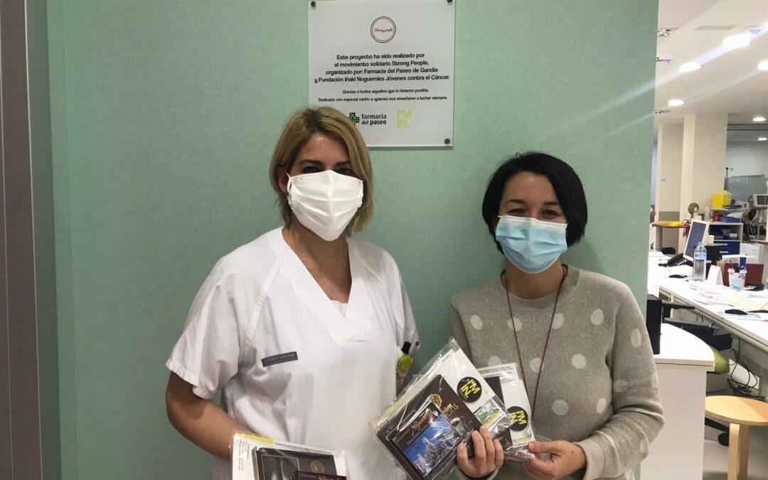 Donación de chocolates al Hospital San Francisco de Borja